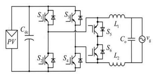 HERIC inverter topology