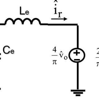 Proposed noncoupled equivalent circuit model for SRC