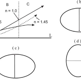 Change of fault displacement and trace length with depth