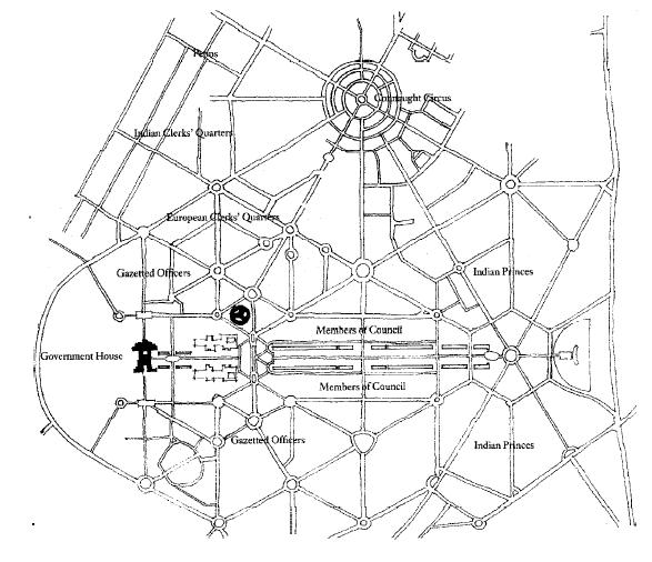 Figure_11: New Delhi, Lutyens and Baker, 1913.Source