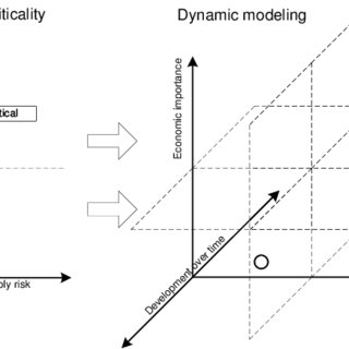 Causal loop diagram with possible feedback effects in a
