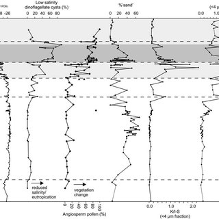 Lithological, gamma-ray and sonic wireline geophysical