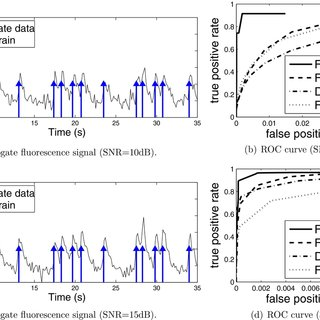 Fluorescence signal processing with a sliding window. For