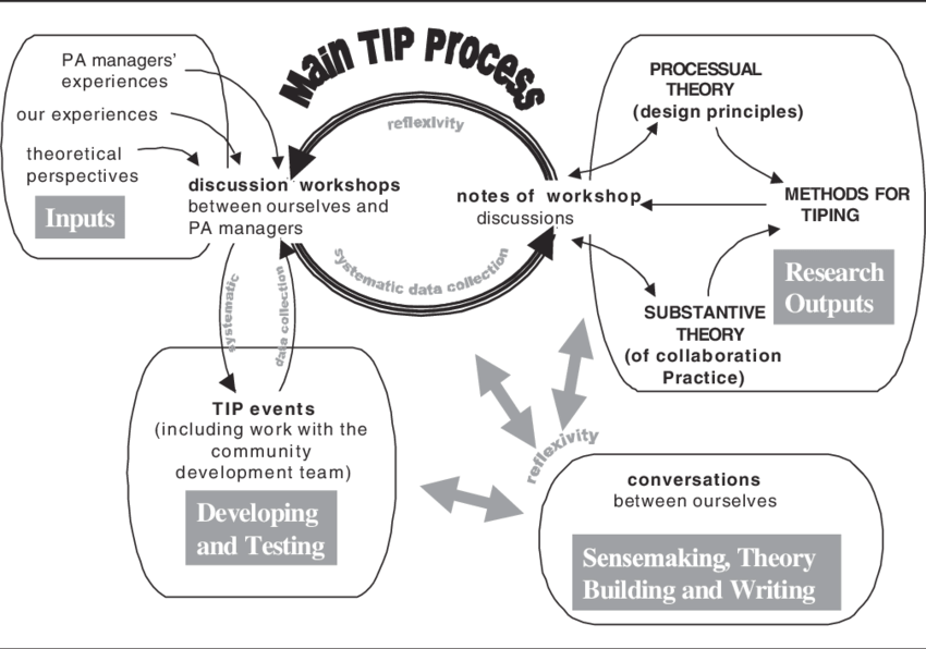 The Action Research Process for the Transferring Insight