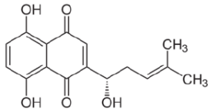 Chemical structure of curcuminoids extracted from turmeric
