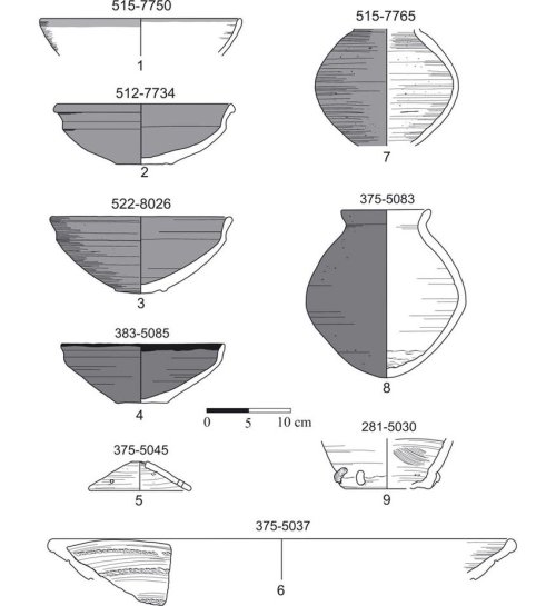 small resolution of selection of ceramic sherds from the new kingdom early 18 th dynasty download scientific diagram