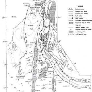 Figure 10 tectonic map of northeast indian ocean from curray 2005 notice