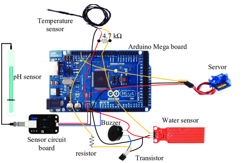 Electronic Thermometer Circuit Diagram Liquid Water Temperature