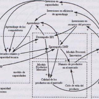 Modelo del ciclo de realimentación de firmas innovadoras