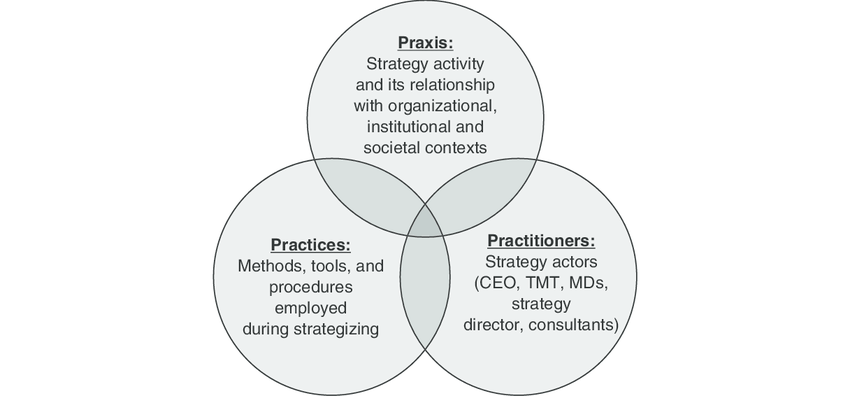 4 The praxis, practitioners and practices framework