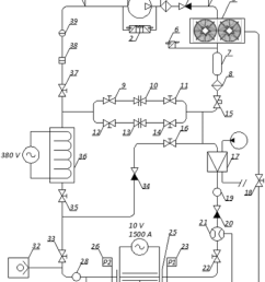 schematic diagram of test bench 1 compressor 2 double pressure relay  [ 850 x 1467 Pixel ]