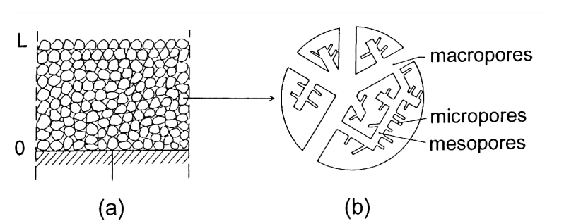 FIG. 1 Schematic representation of the powder active