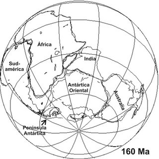 Modelo tradicional del supercontinente Rodinia (modificado