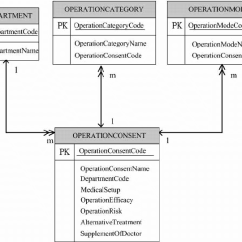Entity Relationship Diagram Software Corsa D Headlight Wiring For The Surgical And Interventional Procedures Consent Database