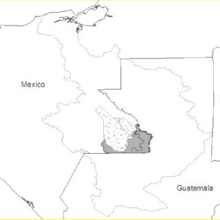 National Forest Inventory map of Mexico in the year 2000