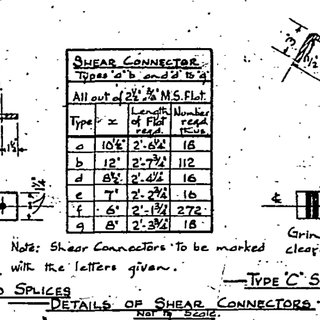 7 Stud shear connector detail (refer appendix D for full