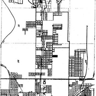 Nineteenth-vs 20th-century urban fabrics. Above: 19th-and