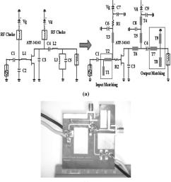 a proposed circuit diagram of a class e pa b  [ 850 x 959 Pixel ]