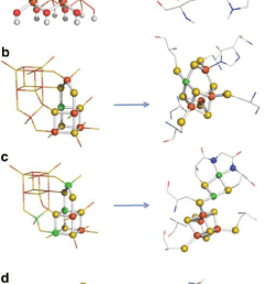 structural comparisons between transition element sulfides and oxides of the kind found in the precipitate membranes [ 709 x 1175 Pixel ]