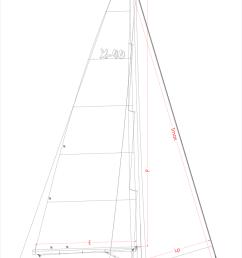 sloop diagram [ 850 x 1213 Pixel ]