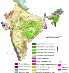 vegetation type and land use land cover map of india download scientific diagram [ 850 x 1136 Pixel ]