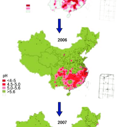 27 acid rain distribution change trend in china in recent years [ 734 x 1446 Pixel ]