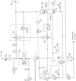 7 piping and instrumentation diagram inside compressor cabinet of bsd 72 compressor system [ 850 x 1220 Pixel ]