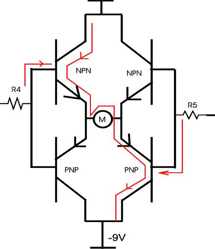 mosfet h bridge circuit diagram