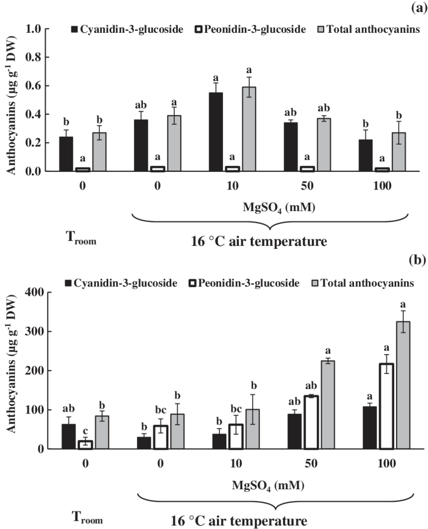 medium resolution of anthocyanin concentrations in the leaf sheath a and in the pericarp of rice grain