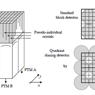6: A schematic representation of a block detector: a