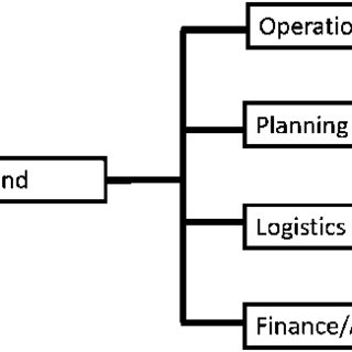 An example of a common operation picture for information