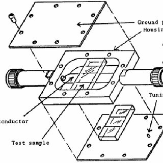 Schematic diagram for the test device of reference