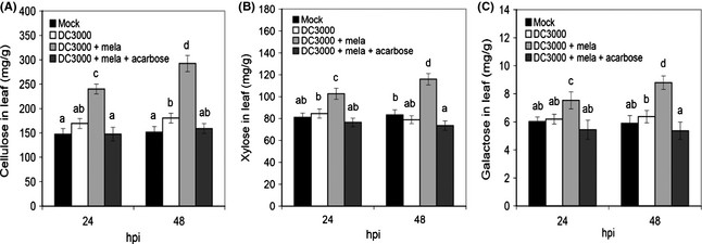 Effect of invertase inhibition by acarbose on melatonin