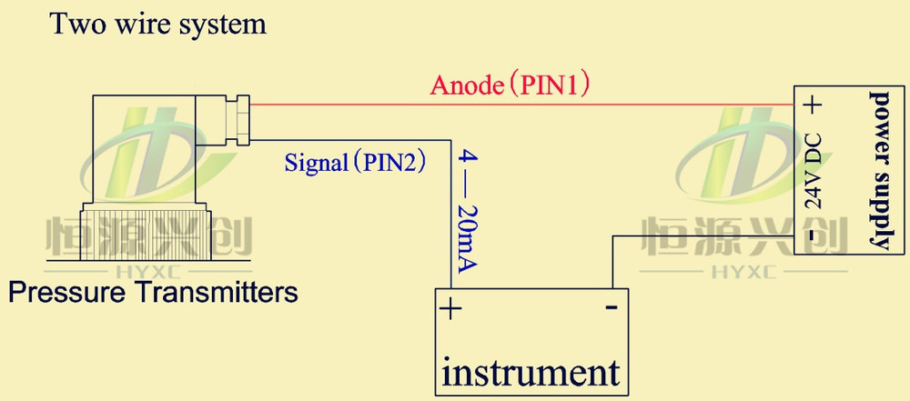 2 wire pressure transducer wiring diagram ford 5000 how can i connect ygx pts802 differential transmitter to circuit jpg78 97