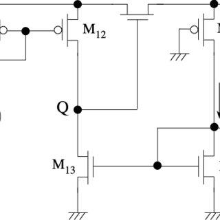 Transfer characteristics of nMOS and pMOS transistors (0