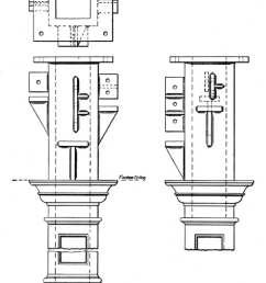 typical cast iron column connections including lugs shelves and cast iron plant diagram [ 850 x 1318 Pixel ]
