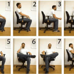Posture Monitoring Chair Swivel Base Replacement Sitting Postures That Usually Appear During A Working Day 1 Upright 2 Leaning Back 3 Forward 4 At The Front Edge 5 Right