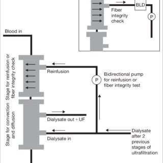 Gambro 3-fi lter hemodialysis system. Online HDF-related