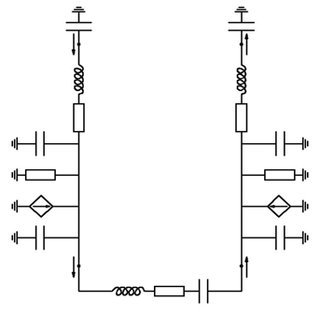 Schematic of a standing-wave thermoacoustic engine with