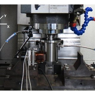 Mechanical model of electromagnetic vibration exciter