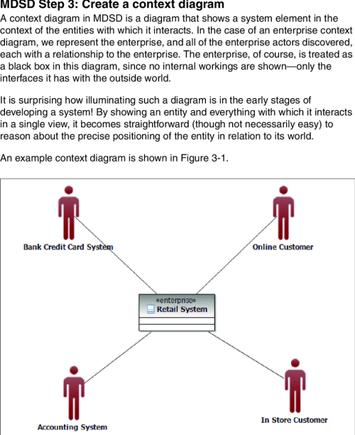 small resolution of sample context diagram
