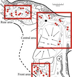 pitfall trap locations maternity chamber bat cave naracoorte south australia  [ 850 x 1139 Pixel ]