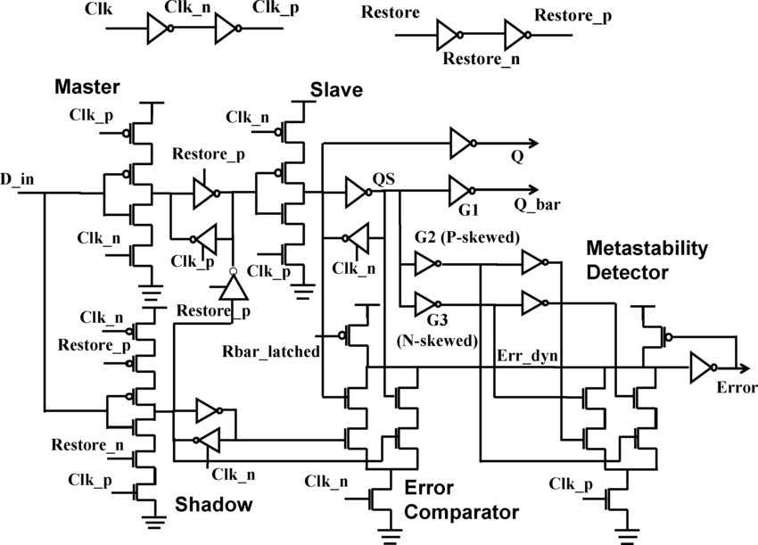 transistor latch circuit schematic