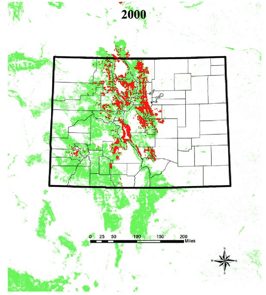 medium resolution of epidemic spread of lodgepole pine tree mortality between 2000 and 2009 caused by mountain pine beetle