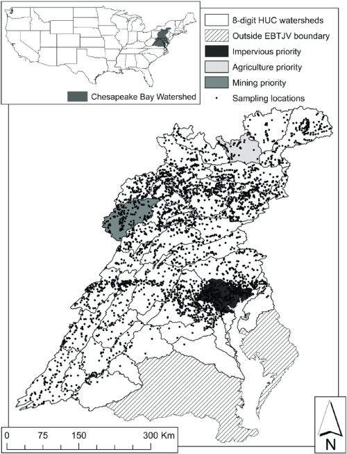 small resolution of location of the chesapeake bay watershed within the united states 8 digit hydrologic unit