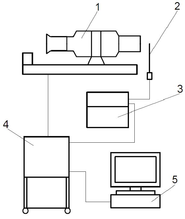 Schematic diagram of experimental facility (1-miniature