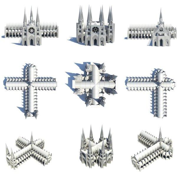 Gothic Architecture Diagram