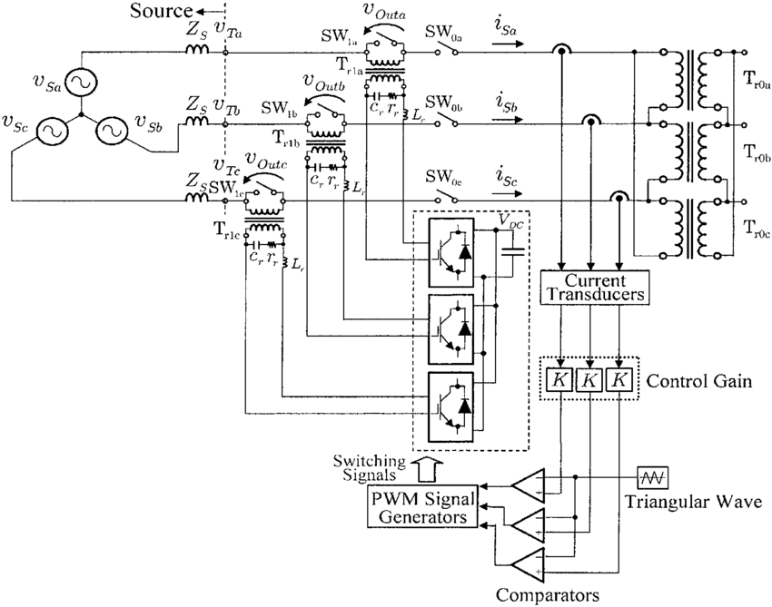 Power circuit diagram of the proposed inrush current