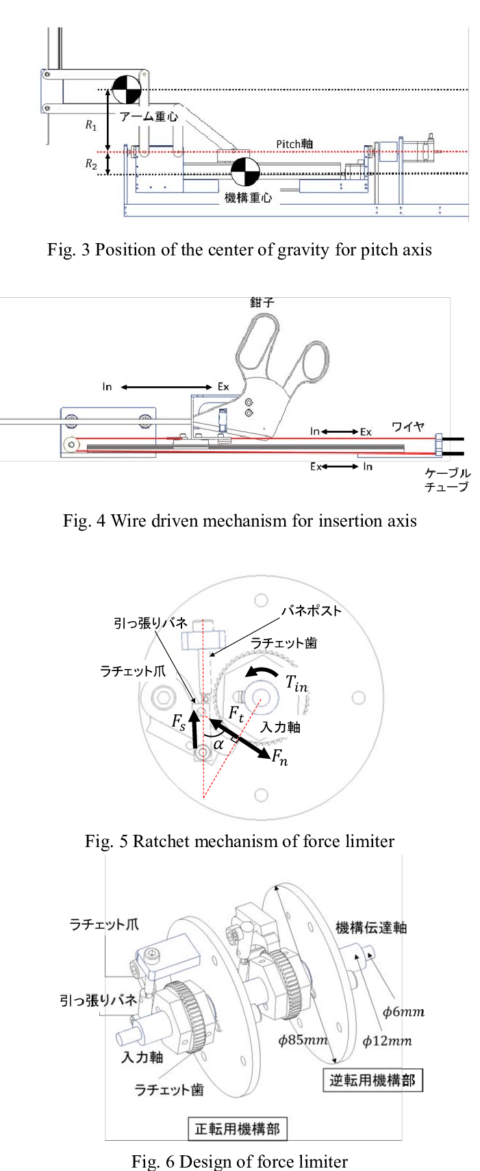 hight resolution of model of slider crank and parallel link mechanism for yaw axis