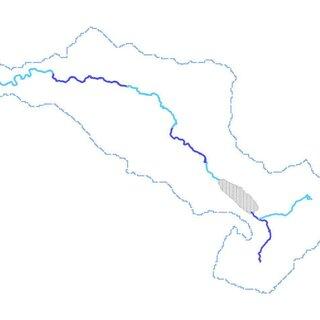3.1. Unitisation map of the River Dee & Bala Lake / Afon